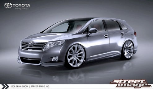 Toyota Reveals Venza Project Car For SEMA