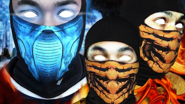 How To Look Just Like A Mortal Kombat Character (Glowing Eyes Not Included)
