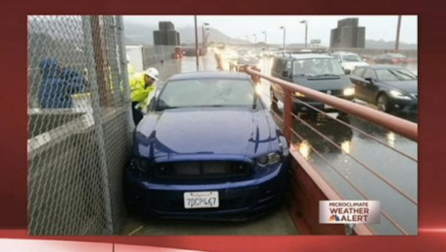 Alleged Drunk Driver Misjudges Alternate Route Across Golden Gate Bridge