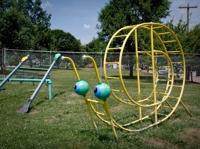 An Ode to the Decaying Playgrounds That Pepper America's Lawns
