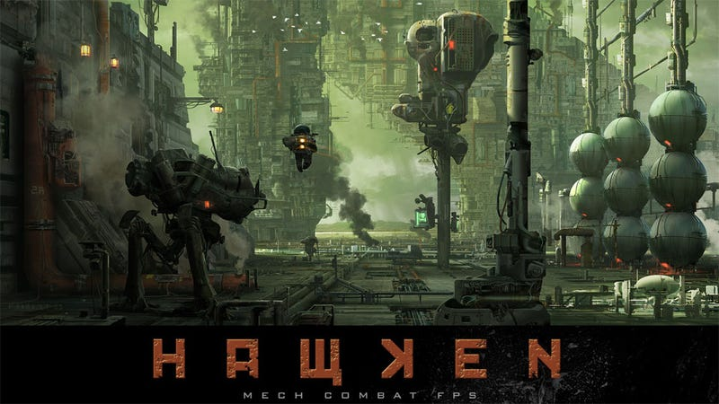 Hollywood Wastes No Time Securing the Movie Rights to Indie Mech Shooter Hawken