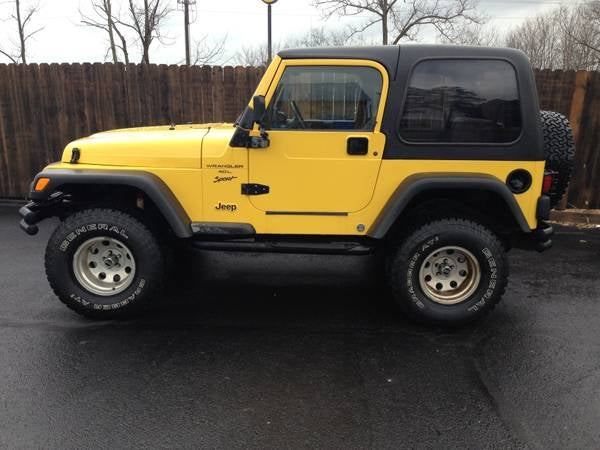 So I want to buy a jeep...