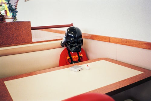 Not Even Ice Cream Can Cheer Up Lil Vader