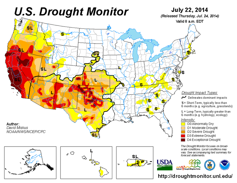 Drought Is Parching The United States From Underground, Too