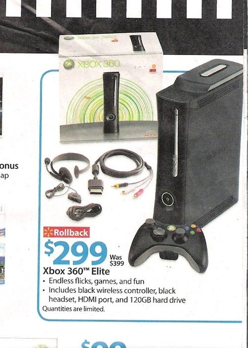 Why Hello, $299 Xbox 360 Elite
