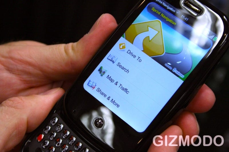 More Palm Pre Details: Remote Wipe and Online Backup, Requires Sprint Simply Everything Plan