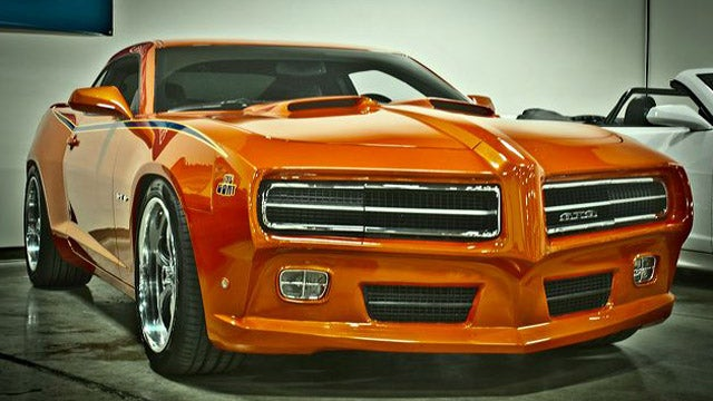 Pontiac GTO Judge revived by Camaro-bending enthusiasts