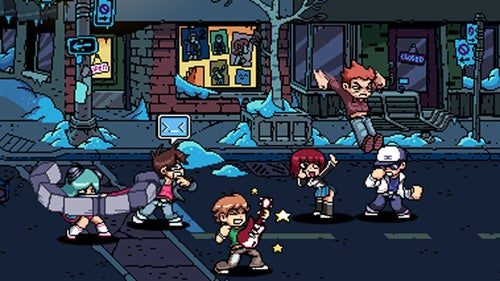 Scott Pilgrim Vs. The World: The Game Review: Four-Player Fan Service