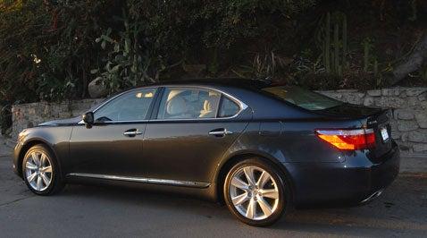 Lexus LS600h L, Part 3
