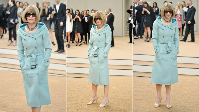Anna Wintour Is Feeling Rather Blue