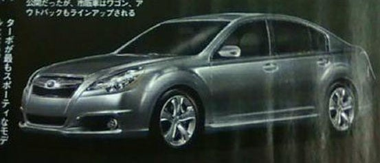 2010 Subaru Legacy, Outback: Like The Concept, But Toned-Down