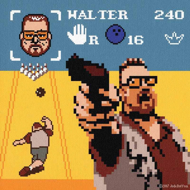 A Pixelated Big Lebowski Game Would Have You Play As 'The Dude' And It Would Be Awesome