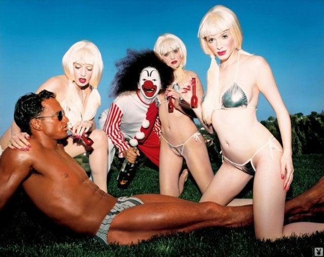 Christina Hendricks' Weird Playboy Pictures