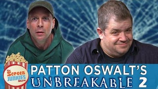 Patton Oswalt Has A Completely Serious Idea For An <i>Unbreakable</i> Trilo