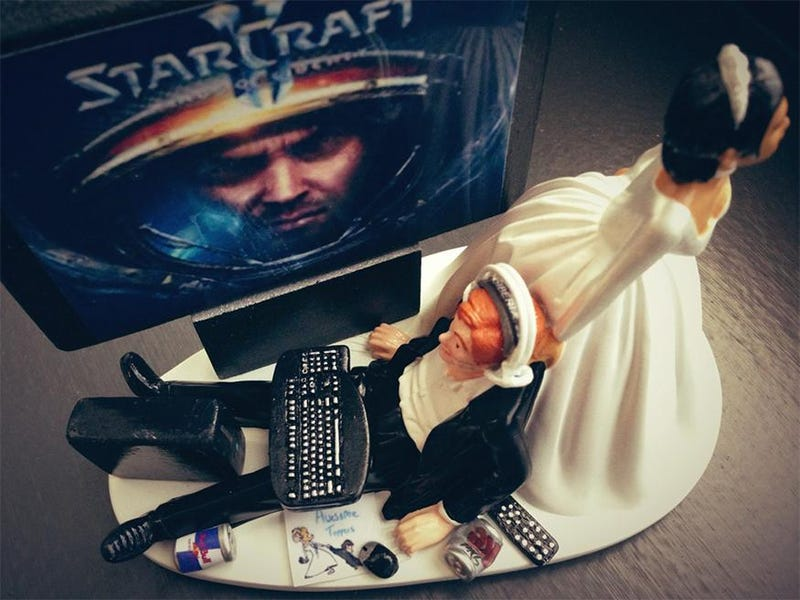 'Til StarCraft do They Part...