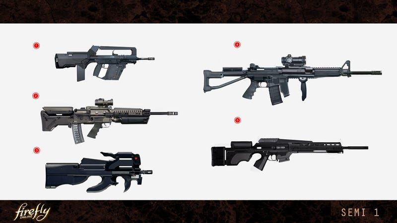 Firefly Weapon Concepts