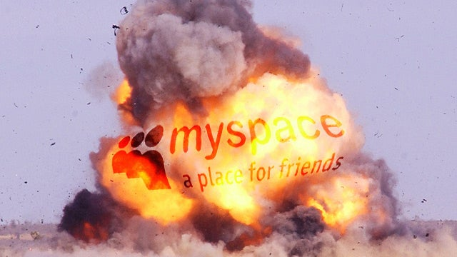 MySpace Crashed Last Night