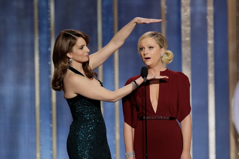Tina Fey and Amy Poehler to Commandeer the Golden Globes for Two Years
