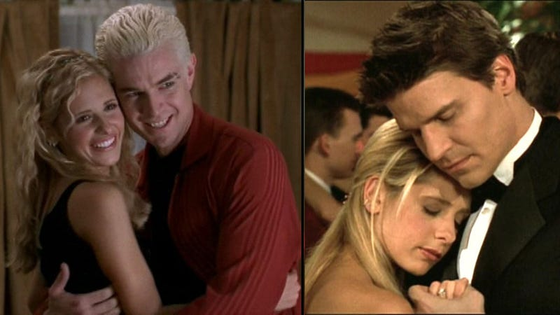Bad News Buffy: Sarah Michelle Gellar Chooses Angel Over Spike