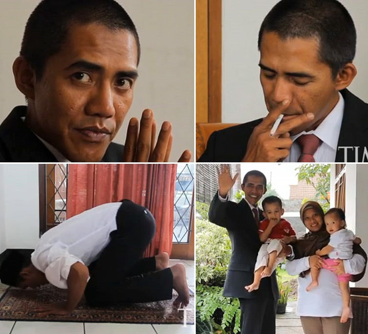 Smoking Muslim Obama Lookalike Is the Tea Party's Wet Dream