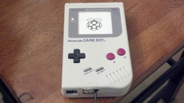 Use an Old Game Boy as a Raspberry Pi Case