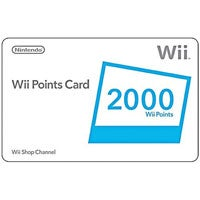 WalMart Holiday Clearance - 2000 Wii Points For $15