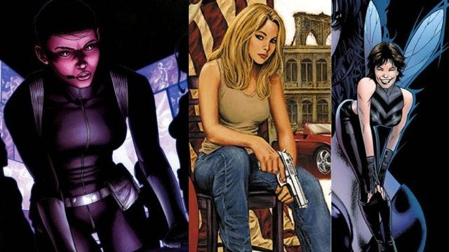 What new female character did Joss Whedon add to The Avengers?