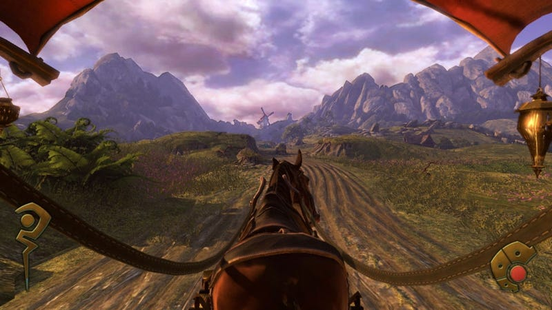 Fable: The Journey Is Part On-Rail Shooter, Part Black & White, Part Fable