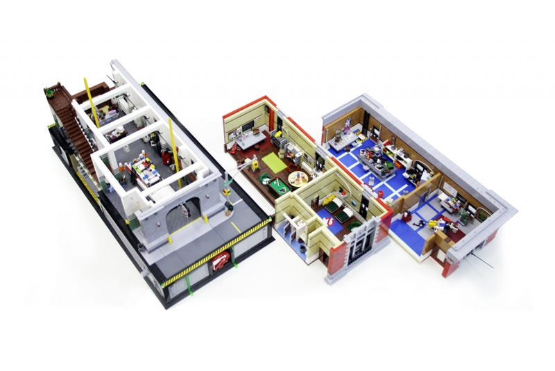 The Ghostbusters' HQ, Incredibly Recreated With LEGO
