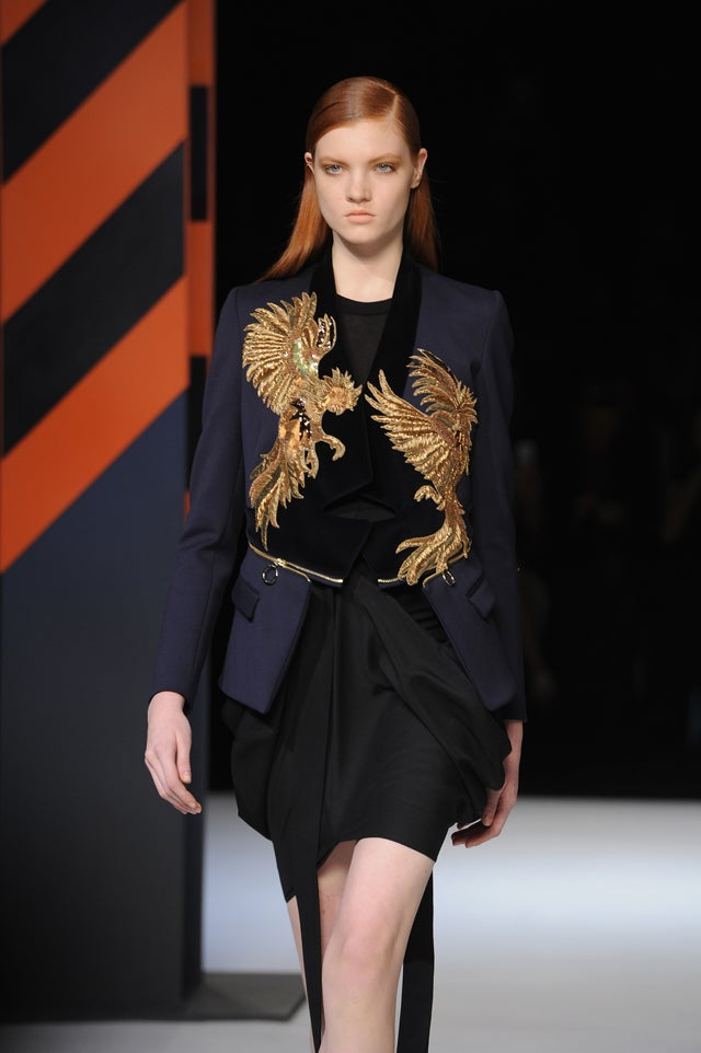 Just Cavalli, for the Fringe-Loving Faux-Biker Chick on Acid in You