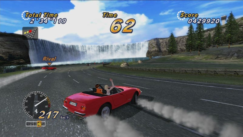 OutRun Online Arcade Gallery Races By
