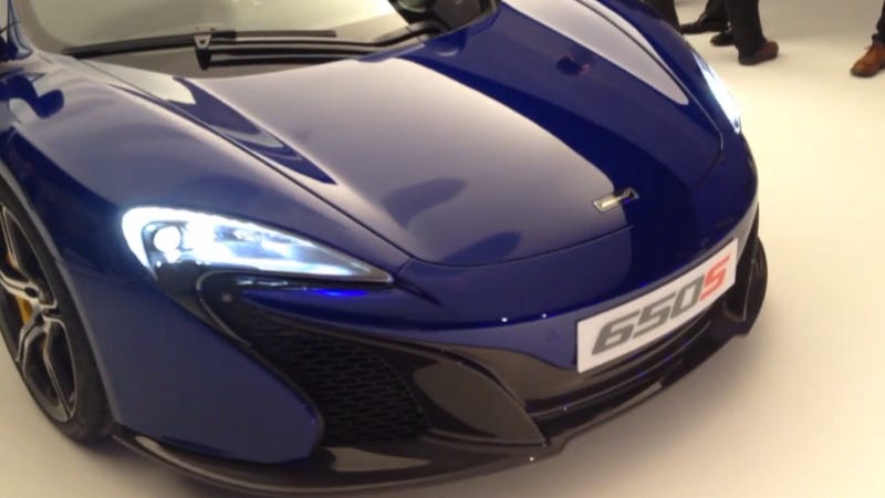Here's A Clear Walkaround Video Of The New McLaren 650S