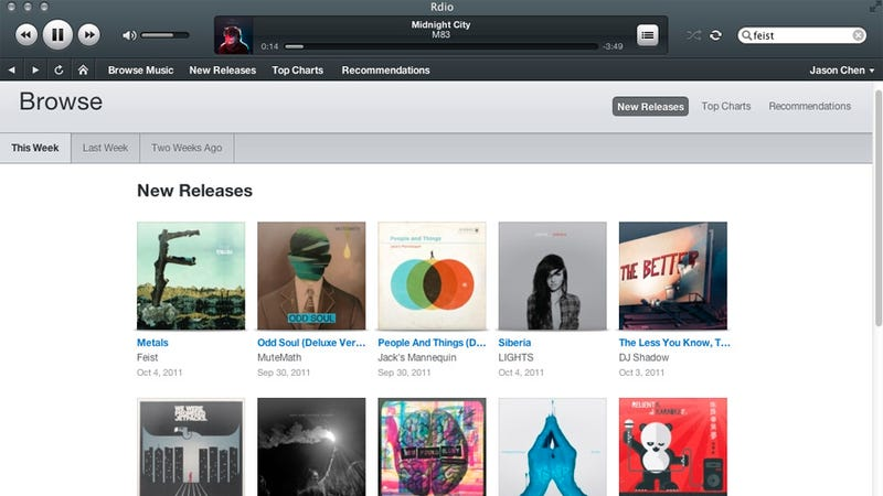 Rdio's Ad-Less, Free Music Streaming Option Gives an Undisclosed Amount of Music Per Month