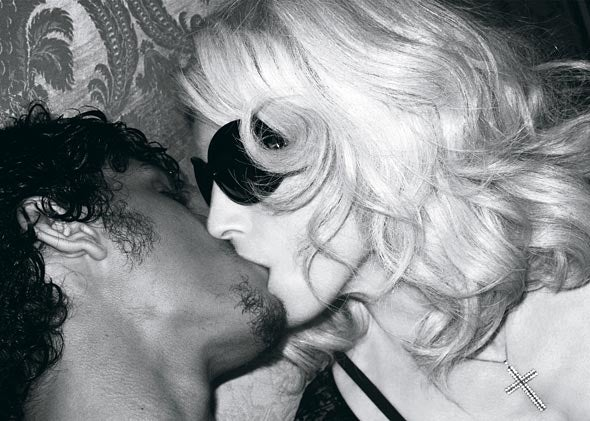 Madonna & New Boytoy Get Intimate In W