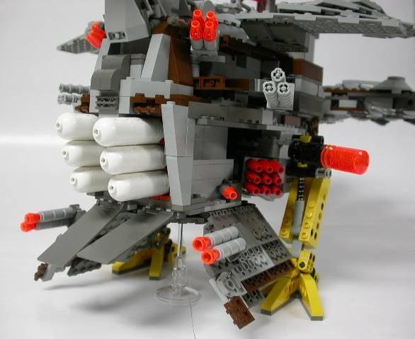 The Revenge of the Lego Turkey Mecha