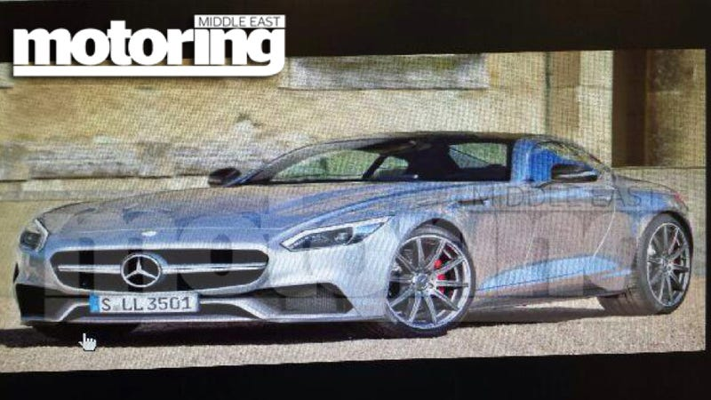 Is This The Porsche 911-Fighting Mercedes SLC?