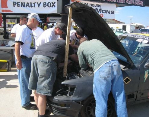 Advances In LeMons Penalty Cruelty: The Lexus LS400 Starter Removal Challenge!