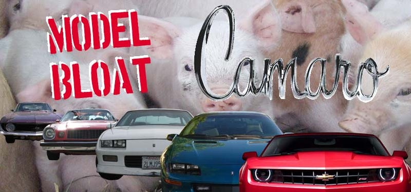 Model Bloat: How The Camaro Gained 827 Pounds Over 37 Model Years