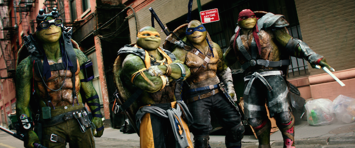 The CG Doesn't Stop In The First Teenage Mutant Ninja Turtles 2 Trailer