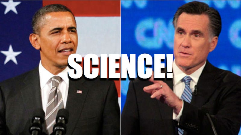 Read Obama and Romney's answers to the country's top science questions
