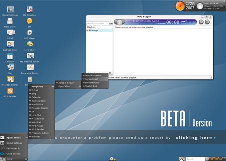 Create an online desktop with DesktopTwo