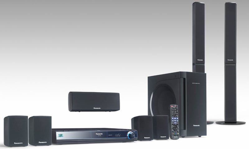 Panasonic SC-BT300 Flagship Blu-ray Home Theater In a Box Is Loaded
