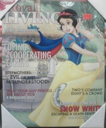 "Disney Pushes Princess ""Lifestyle"" In Ladymag Form"