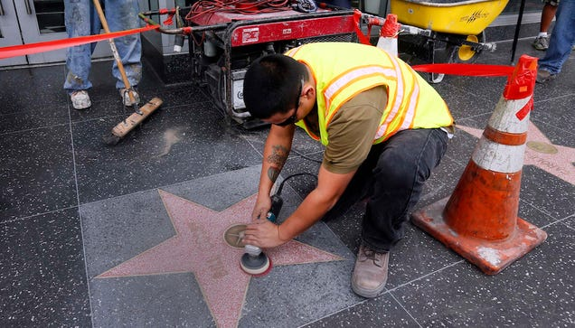 """Someone Added """"Rapist"""" to Bill Cosby's Hollywood Walk of Fame Star"""