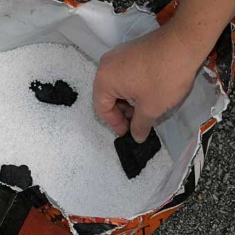 Use Leftover Charcoal to Keep Deicing Salt from Clumping