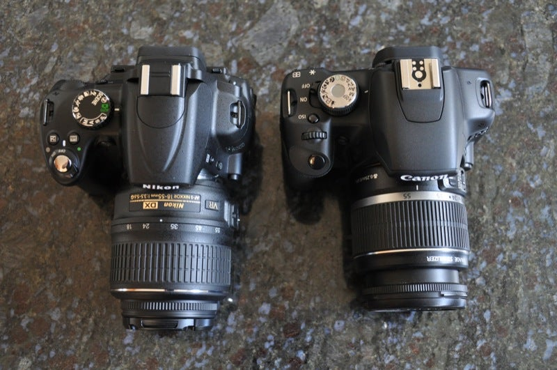 Nikon D5000 vs. Canon T1i: Place Your Bets