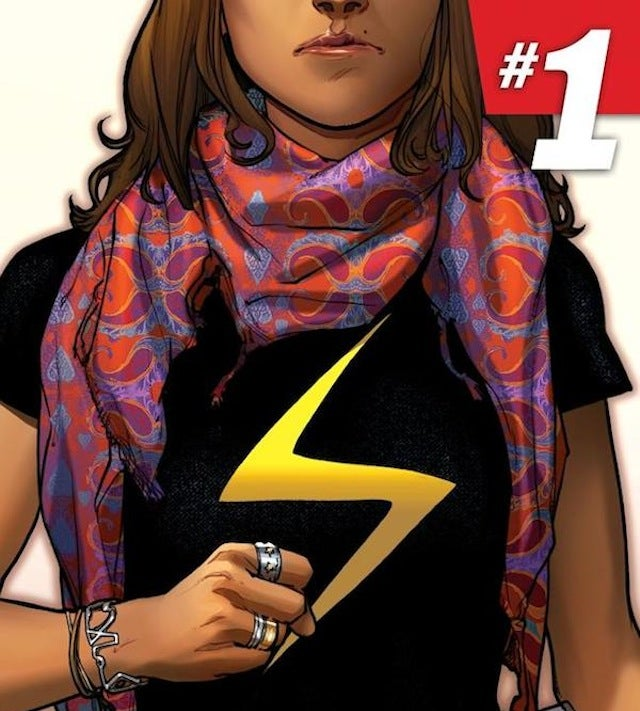 Stephen Colbert does not care for that new Muslim Ms. Marvel