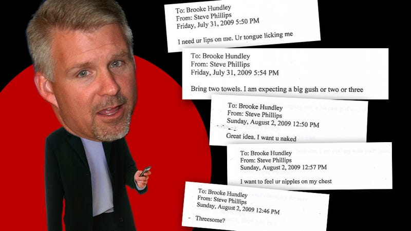 Steve Phillips And Brooke Hundley: A Romance Told Through Filthy Sexts