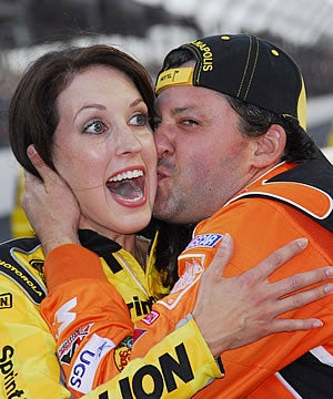 NASCAR's Tony Stewart Makes Sure The Girls Are 18