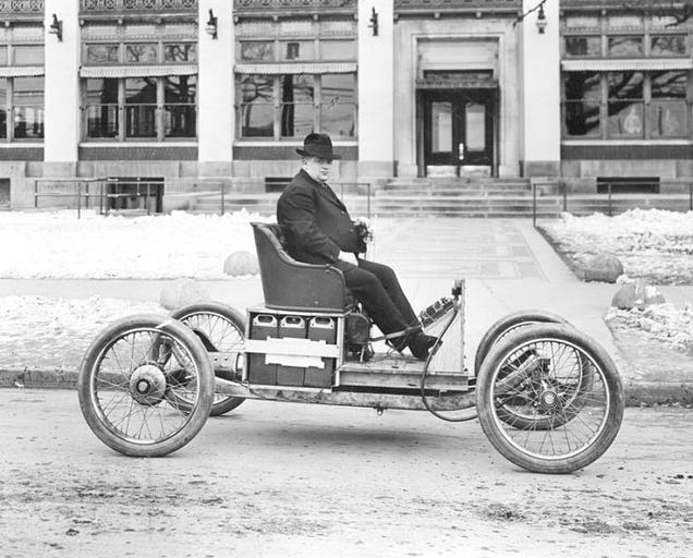How henry ford and thomas edison killed the electric car for History of the electric motor